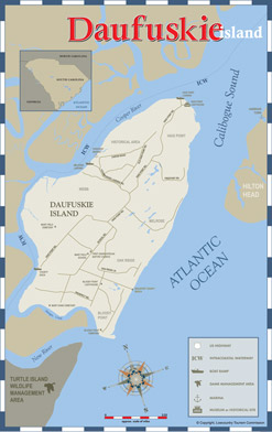 Daufuskie Island Map Maps of Lowcountry | South Carolina Lowcountry