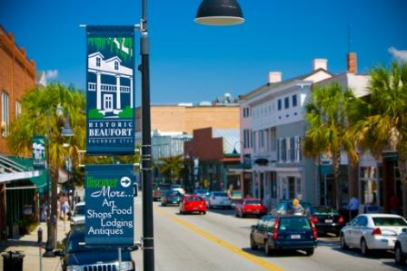 Beaufort Shopping on Bay Street