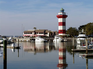 Image of Harbour Town Lighthouse and Marina