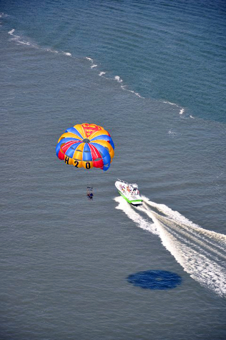 Hilton Head Parasail Harbour Town