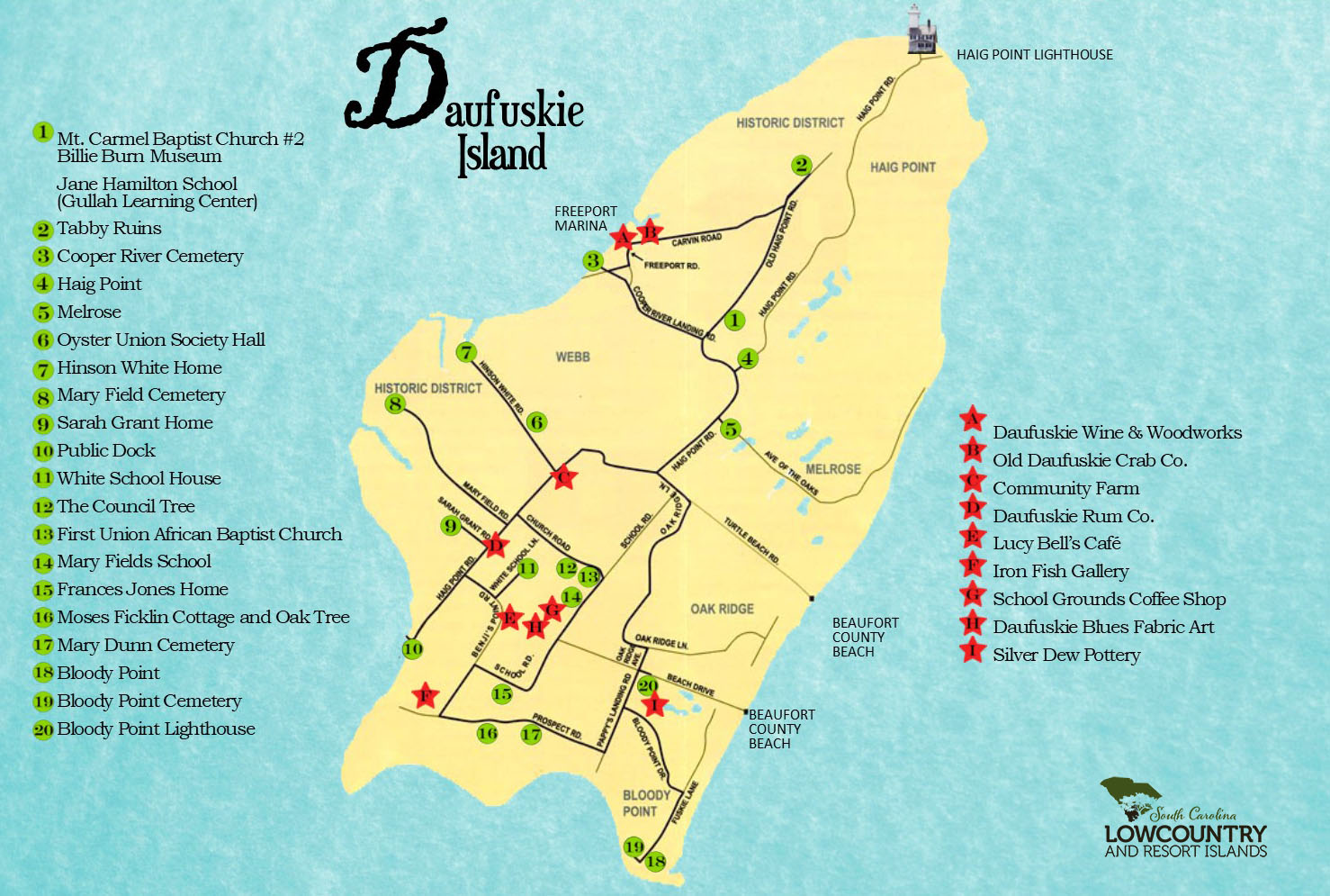 Daufuskie Day Trips | South Carolina Lowcountry on