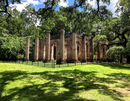 Old Sheldon Church Ruins Gain Protection