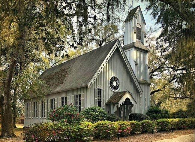 historic church ridgeland -  holy trinity church