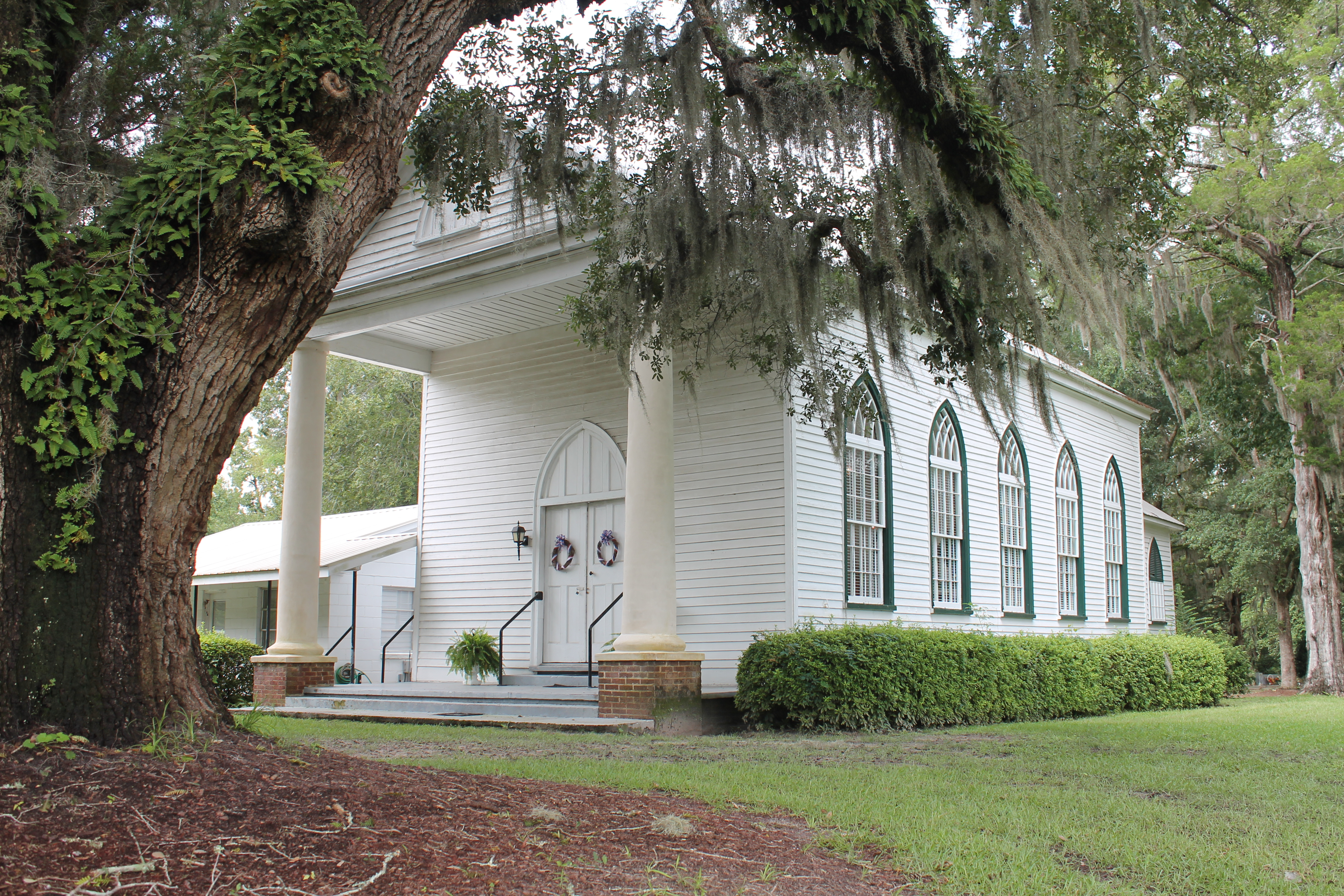 Robertville Baptist Church exterior