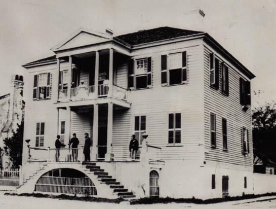 the Verdier House as Union headquarters