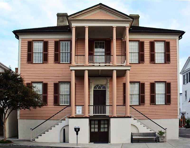 Exterior of John Mark Verdier House Museum