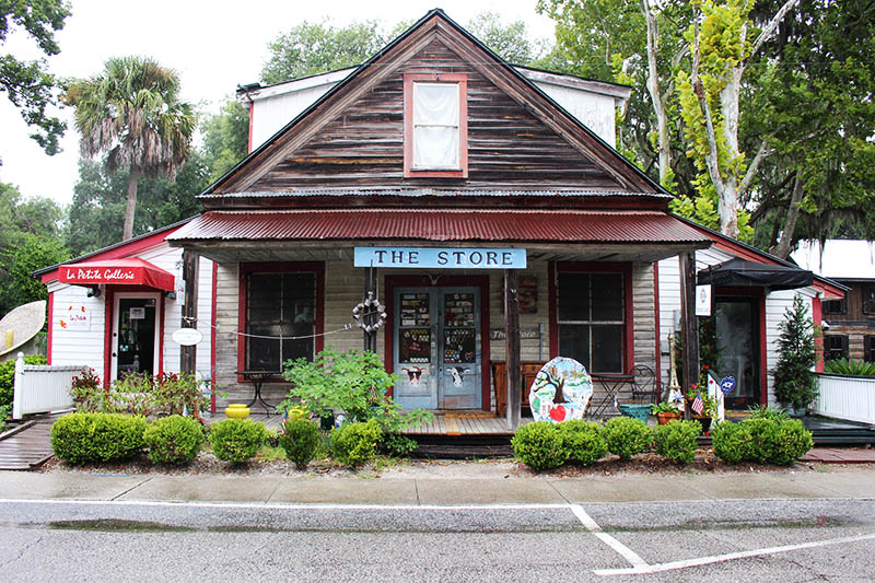 the store in downtown bluffton