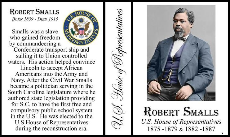 Picture of Robert Smalls as a politician