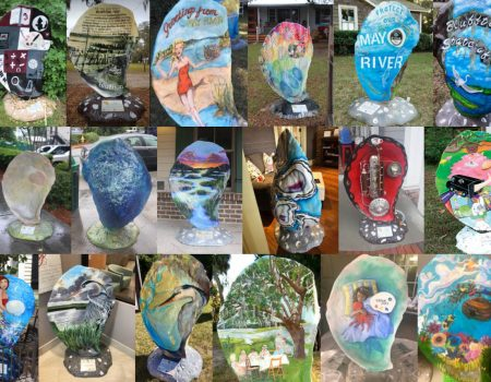 Bluffton's Shell Art Trail