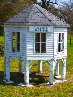 brunson town hall model