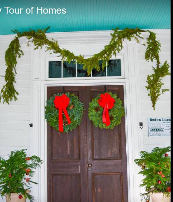 A home that is part of the Walterboro Holiday Tour of Homes