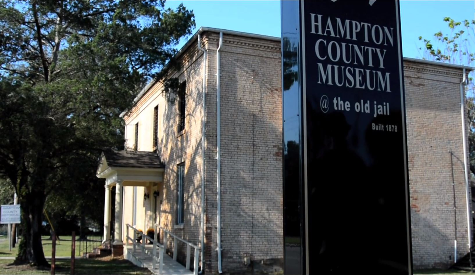 hampton county museum in old hampton county jail