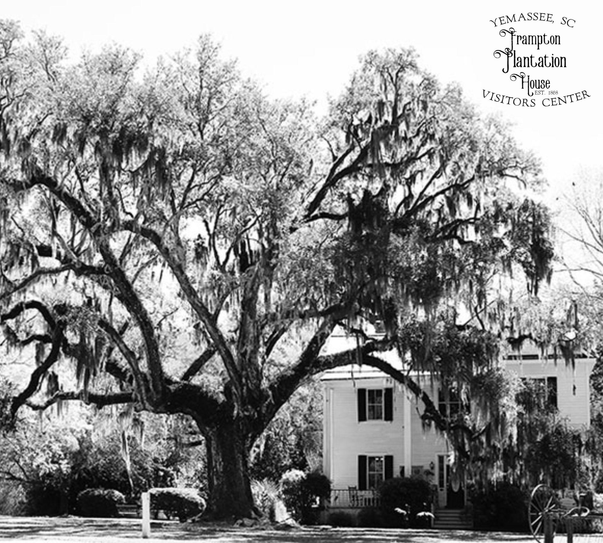 Exterior view of Frampton Plantation House