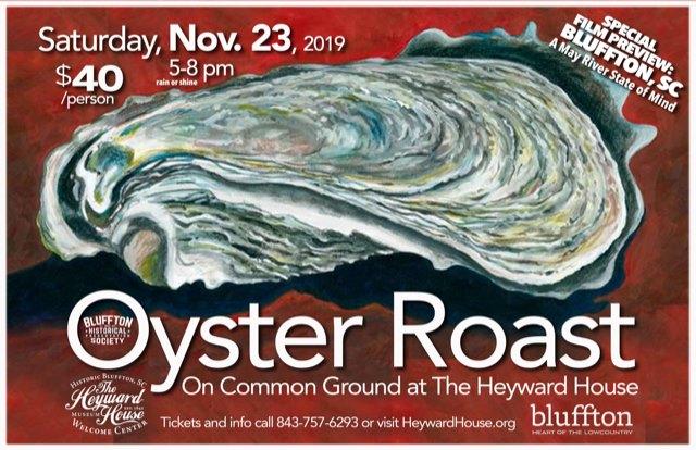 historic bluffton oyster roast 2019