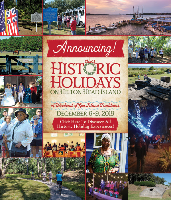 hilton head historic holidays 2019