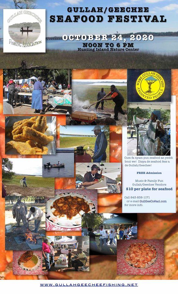 Hunting Island Gullah Geechee Seafood Festival South Carolina