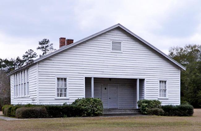 the Hampton Colored School