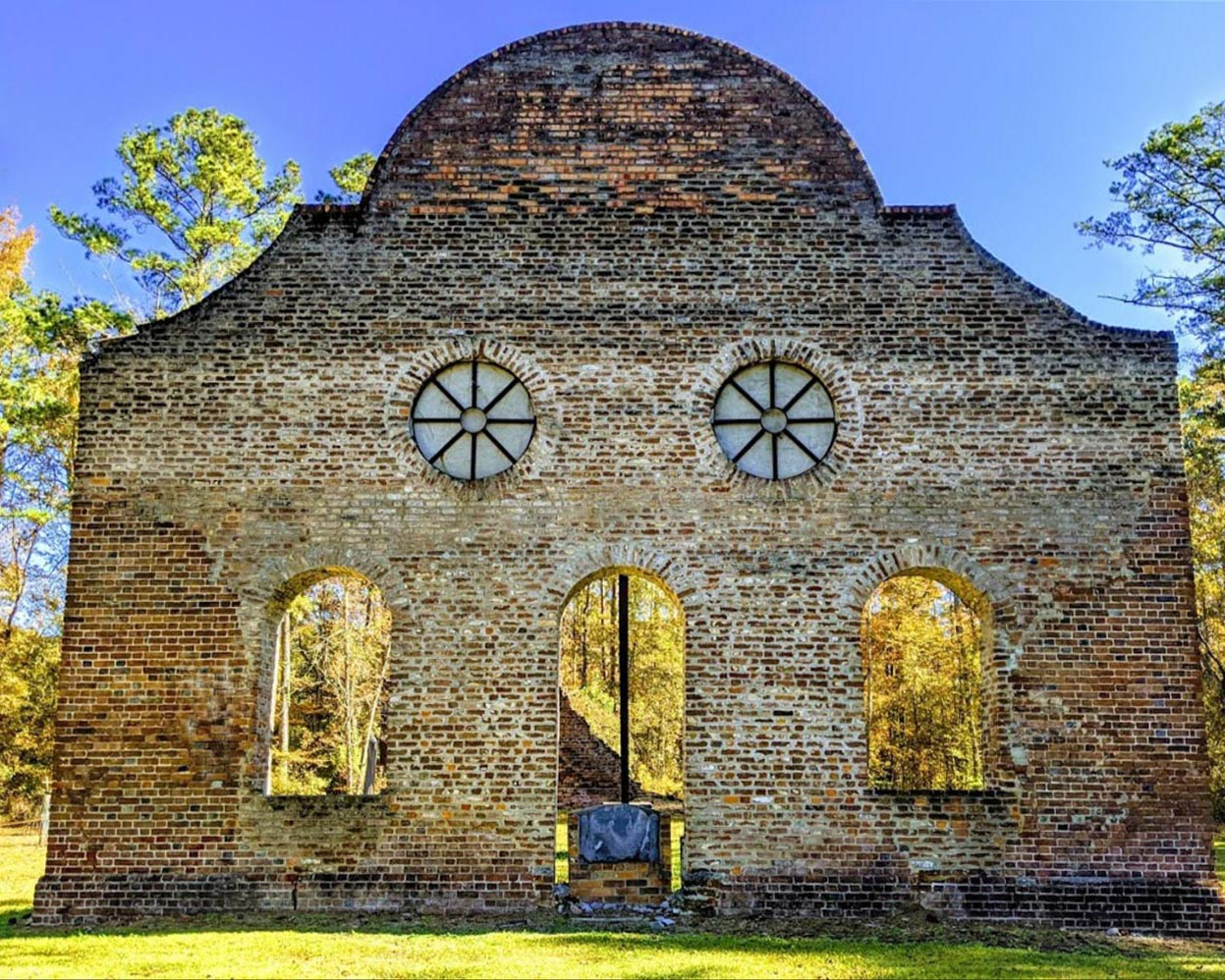 pon pon chapel of ease, colleton county, walterboro, jacksonboro