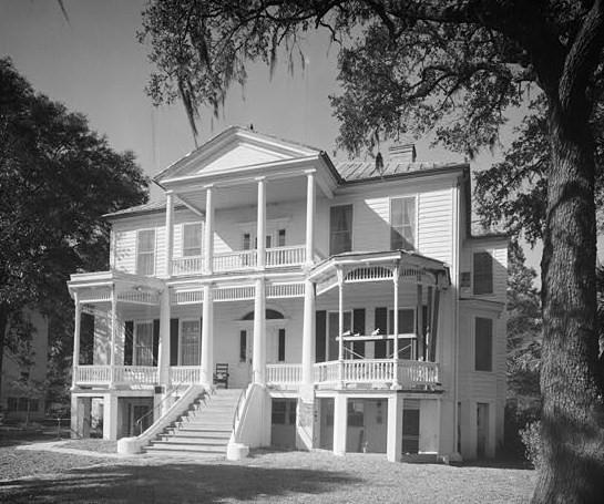Cuthbert House Bay Street Historic Beaufort SC