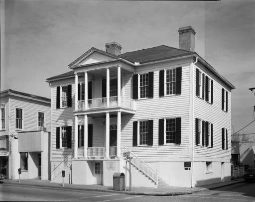 verdier house Bay Street Historic Beaufort sc
