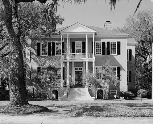 tabby manse Bay Street Historic Beaufort