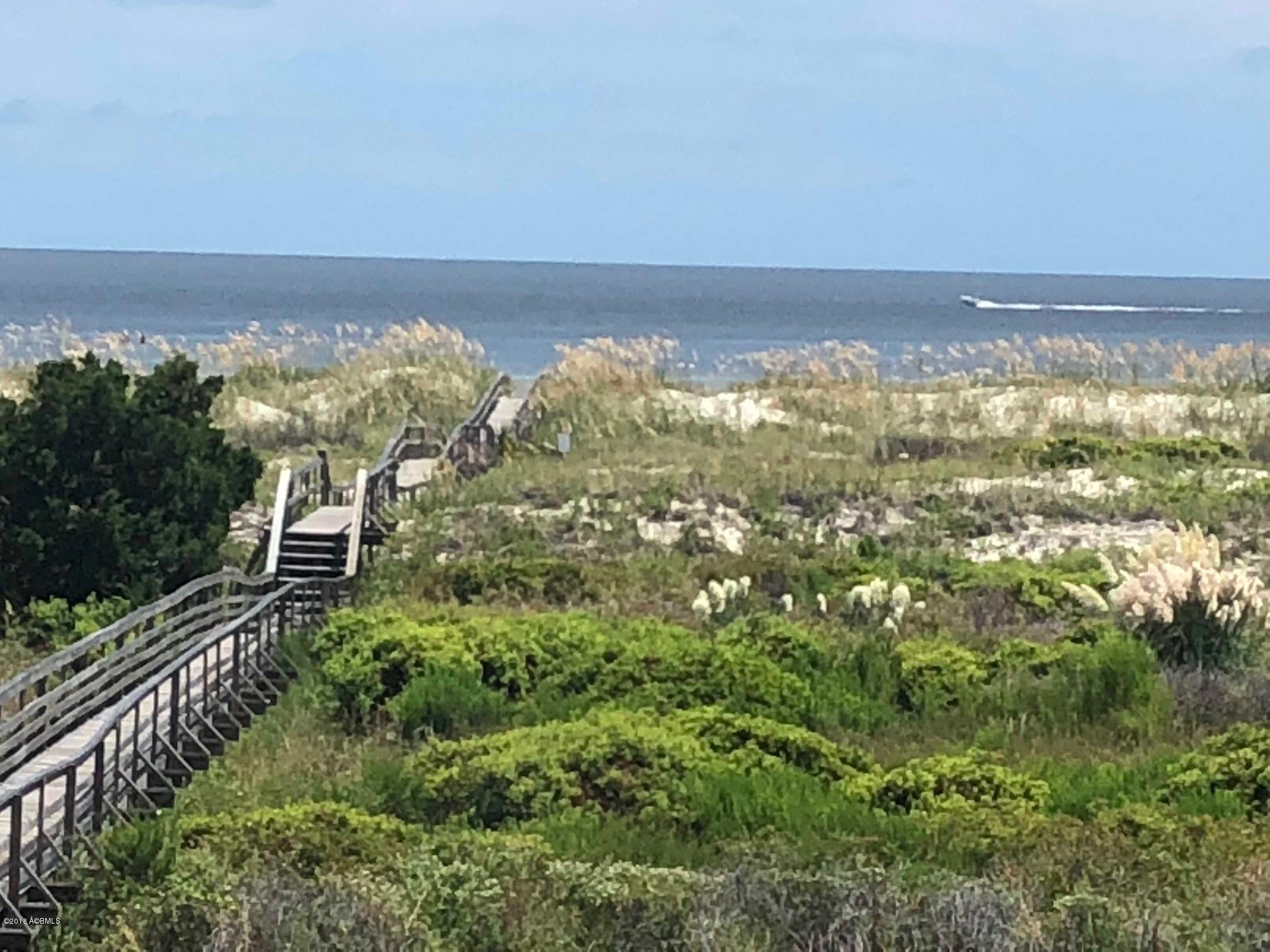 Harbos Island Beach in South Carolina