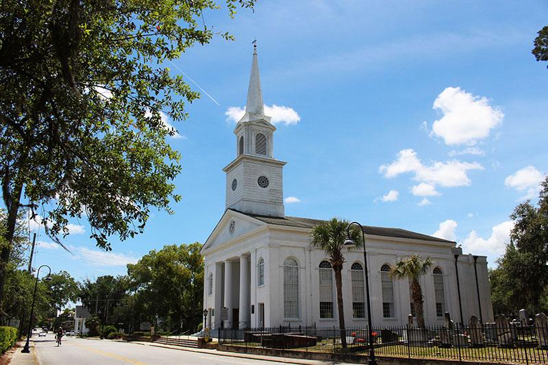 The baptist church of beaufort historic churches sc
