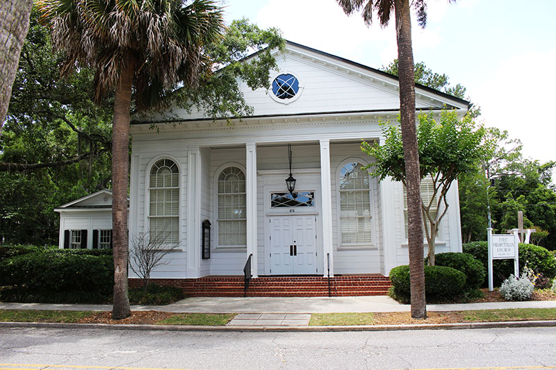 Beaufort's First Presbyterian Church was built in 1928