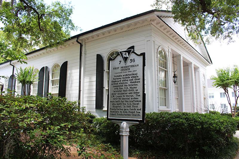 beaufort sc historic church