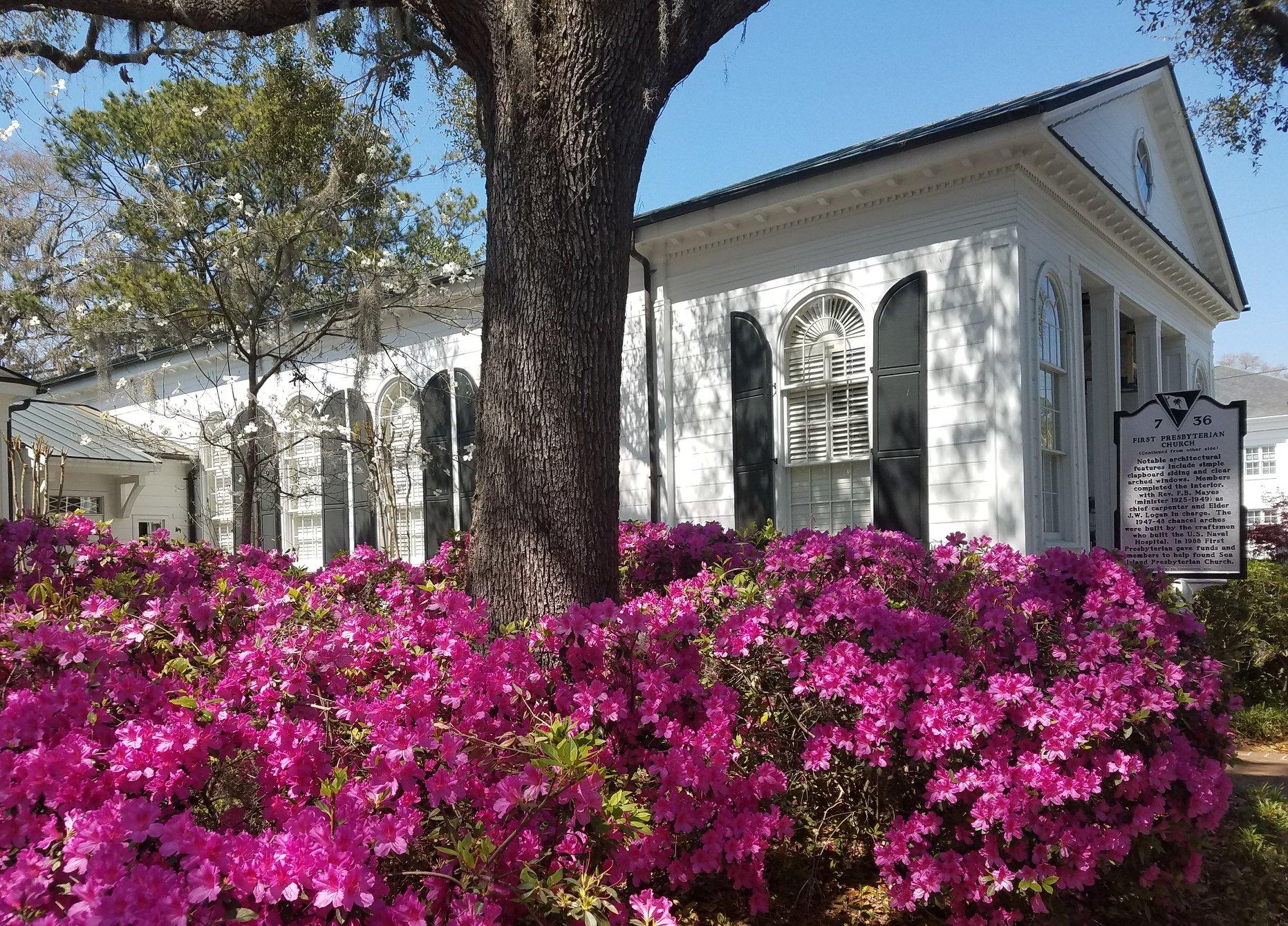 First Presbyterian Church in Beaufort SC