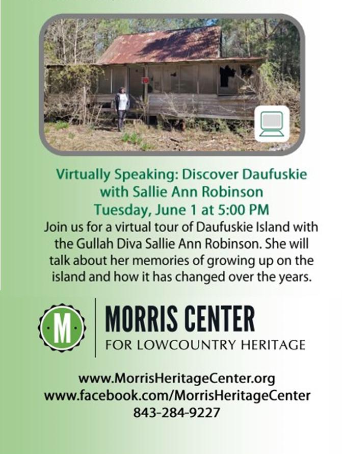 Discover Daufuskie with Sallie Ann Robinson
